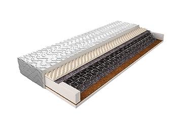 Matratze mit Bonellfederkern 017 - Größe: 160 x 200 cm, Höhe: 17 cm