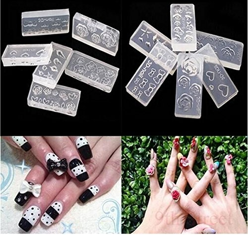 drhob-6pcs-3d-durable-acrylic-silicone-mold-for-nail-art-diy-decoration-designa-variety-of-design-ra