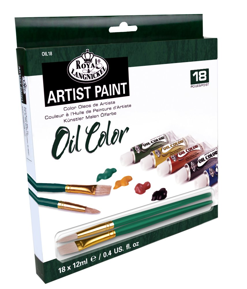 Juego de tubos de pintura al óleo