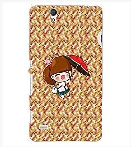 PrintDhaba Cartoon D-2994 Back Case Cover for SONY XPERIA C4 (Multi-Coloured)