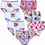 Sesame Street Elmo Toddler Girls' 7 Panty Pack
