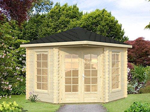 5-Eck Gartenhaus Holz