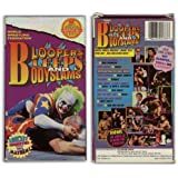 WWF: Bloopers,Bleeps and Bodyslams [VHS]