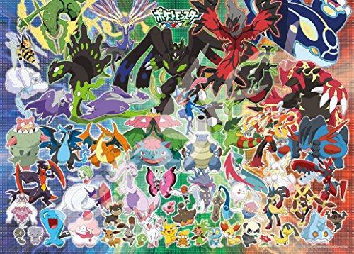 300-piece-jigsaw-puzzle-Pokemon-XY-Z-A-New-Pokemon-Battle-of-dawn-large-piece-38x53cm