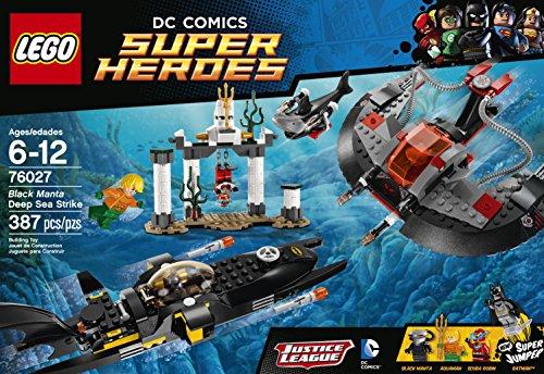 LEGO Superheroes Black Manta Deep Sea Strike Building Set 76027 at Gotham City Store