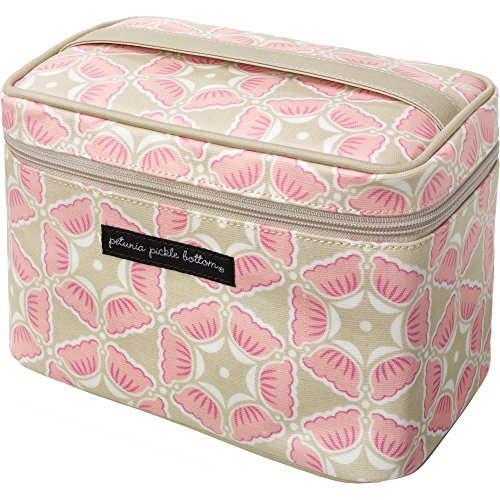 Petunia Pickle Bottom Travel Train Case, Blooming Brixham