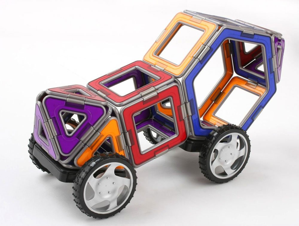 Amazon.com: Magformers XL Cruisers Car Set (Colors may vary): Toys ...