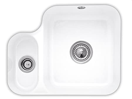 Villeroy Boch Cisterna & 60B Snow White Ceramic Sink / Flush-Mounted kitchen sinks