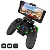 GameSir G3s Wireless Bluetooth Controller Gamepad for Android Smartphone Tablet TV BOX, PC Windows XP/7/8/10, Samsung Gear VR, PS 3 (Color: G3s)