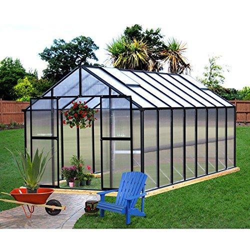 Monticello-Greenhouse-16FT-Black