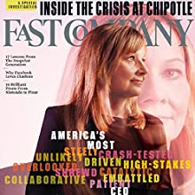 Audible Fast Company, November 2016 Periodical by Fast Company Narrated by Ken Borgers