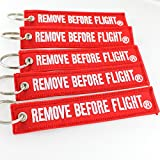 Rotary13B1 - Remove Before Flight Key Chain 5 Pack