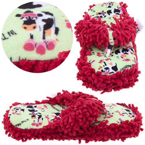 Image of Lazy One I'm Mooody in the Morning Thong Slippers for Women (B005HEIMHW)