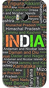 Kasemantra My India Typo Case For HTC One M8