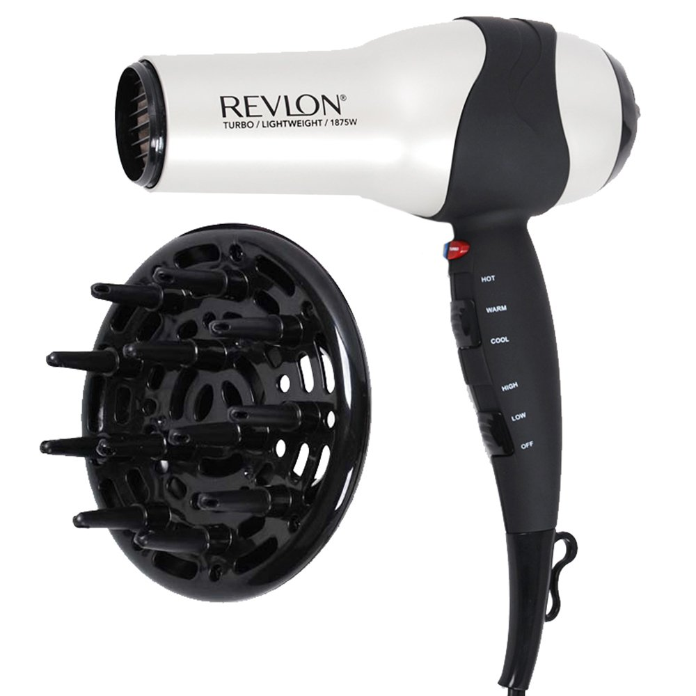 Revlon RV473 Perfect Heat Volumizing Turbo Hair Dryer