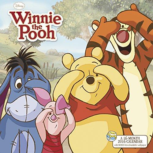 Winnie the Pooh Wall Calendar (2016)