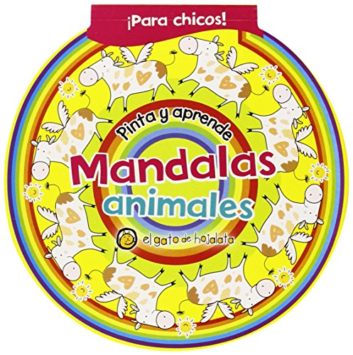 Mandalas. Animales (Pinta Y Aprende Con Mandalas)
