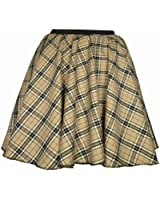 "Adults Tartan Skirt - Skater, Burns night, Hogmanay, Hen Party, Scottish 8 different types 17"" length"