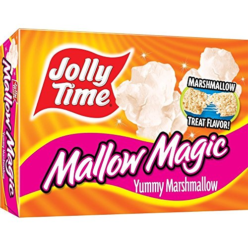 Jolly Time Mallow Magic Marshmallow Flavor Microwave Popcorn, 2 - Count Boxes (Pack of 3) (Count Pop Corn compare prices)