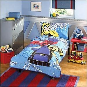 amazon com transformers toddler bedding set baby