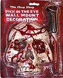 Fiesta de Halloween Horror colgante de calavera de pared 'fileteador enfréntalo'