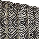 Arie(アーリエ) 遮光カーテン アジアン 2枚組 100×178cm ブラック