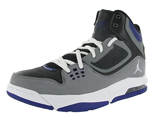 McConnell Foundation | Air Jordan Flight mens BASKETBALL SHOE White Purple