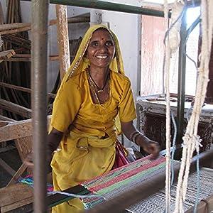 Fair Trade Handmade Recycled Rag Rug Runner (240 x 75 cm) by Paper High