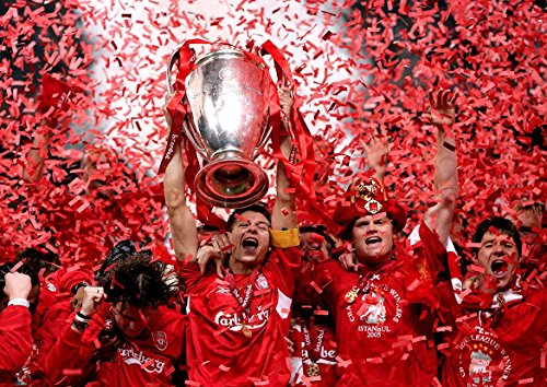 liverpool-fc-steven-gerrard-champions-league-winners-2005-poster-a2594x420mm
