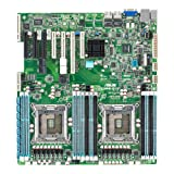 Asus Z9PR-D12 ASMB6-IKVM Server Board (C602-A PCH, DDR3, S-ATA/600, 7 Expansion Slots Support, Onboard ASMB6 for Easy Troubleshooting, Socket 2011)