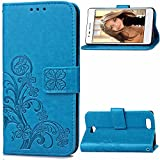 Oppo A31 Hülle, Oppo A31 Case,Cozy Hut Lucky Clover Muster