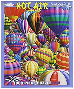 White Mountain Puzzles Hot Air Balloons - 1000 Piece Jigsaw Puzzle