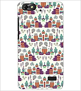 PrintDhaba Pattern D-2182 Back Case Cover for HUAWEI HONOR 4C (Multi-Coloured)