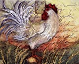 Le Rooster II by Susan Winget Art Print, Size 10 x 8 inches