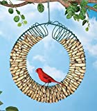 Hanging Peanut Wreath Bird Feeder by Collections Etc