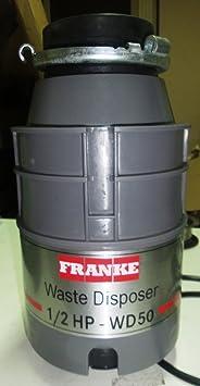 Prezzi! Dissipatore FRANKE WD 50 - Tritarifiuti alimentare ...