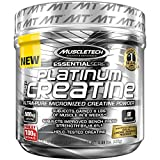 MuscleTech Platinum 100% Creatine, Ultra-Pure Micronized Creatine Powder, Unflavored, 0.88 Pounds (400 Grams)