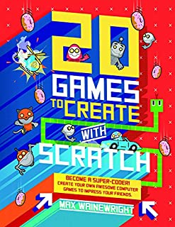 Book Cover: 20 Games to Play with Scratch