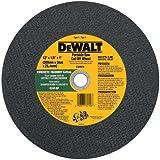 DEWALT DW8026 12-Inch by 1/8-Inch by 1-Inch C24P Abrasive Concrete/Masonry Cutting Wheel