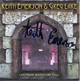 Emerson & Lake - Live From Manticore Hall [Japan LTD Mini LP SHM-CD] MICP-30056