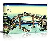 Wall26 - (Buy 2 Get 3rd Same Size Art for Free) Under Mannen Bridge at Fukagawa from Thirty-six Views of Mount Fuji by Katsushika Hokusai -24