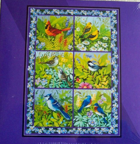Bits and Pieces In The Aviary By Lynn Kaatz 1000 Piece Jigsaw Puzzle