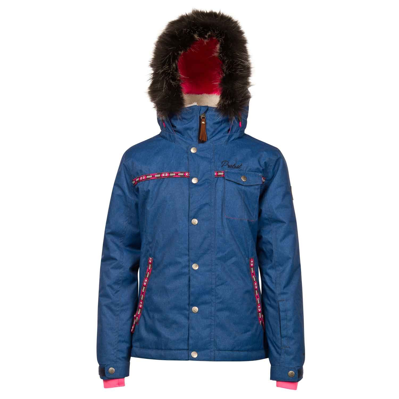 Protest Laini Snow Jacket – Cerise günstig kaufen