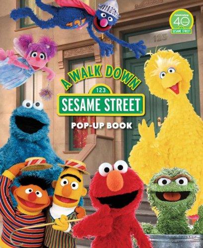 A Walk Down Sesame Street: Pop-Up Book (Sesame Street Books) front-864296
