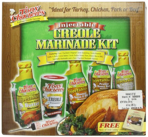 Tony Chachere Marinade Gift Set, 4-Pound 8 Oz