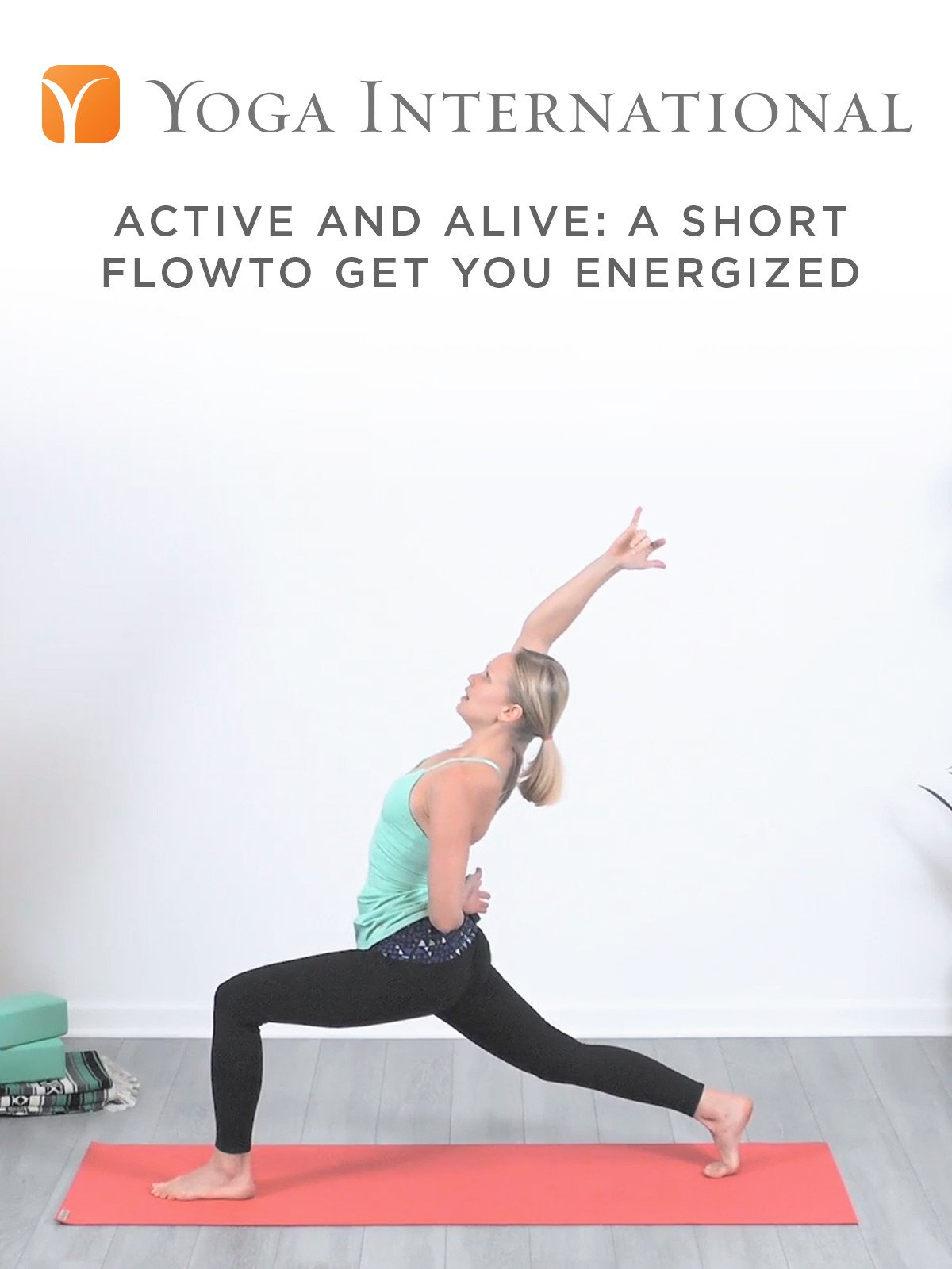 Active and Alive: A Short Flow to Get You Energized