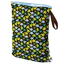 Planet Wise Wet Diaper Bag, Daisy Dream, Large