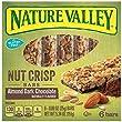 Nature Valley Crisp Bars, Almond Dark Chocolate Nut, 5.34 Ounce
