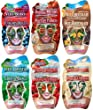 Montagne Jeunesse Pic n Mix Face Masque Sachets - Pack of 6