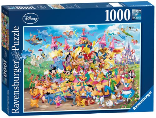Ravensburger Disney Carnival Multicha 1000pc Fun Adults Childs Jigsaw Puzzle